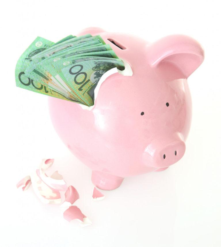 money in the piggybank