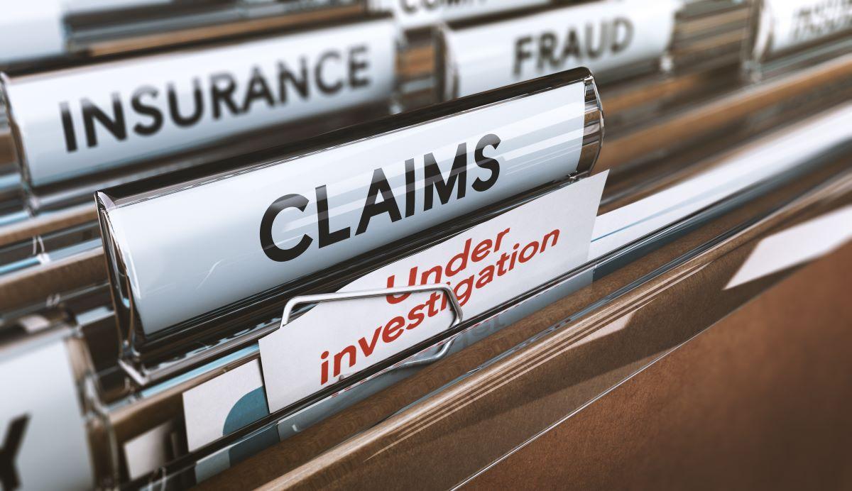 insurance claims folders