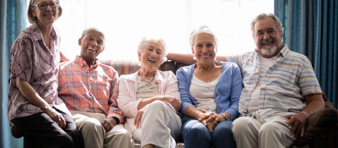 happy retired people